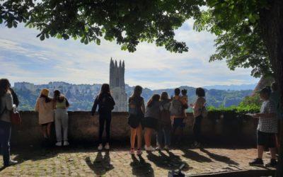 Passeggiata a Friburgo con la classe del sabato!